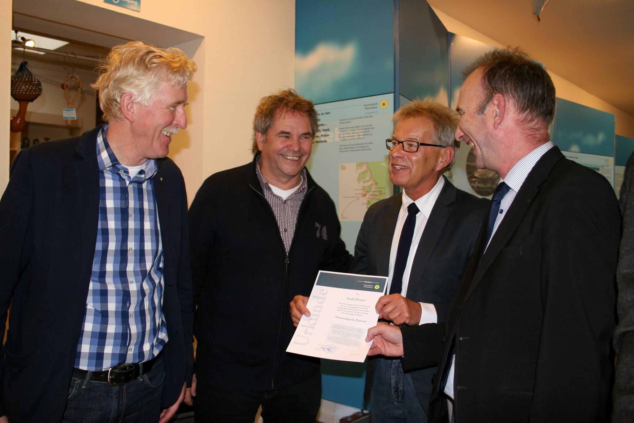 Husum ist Nationalpark Partner