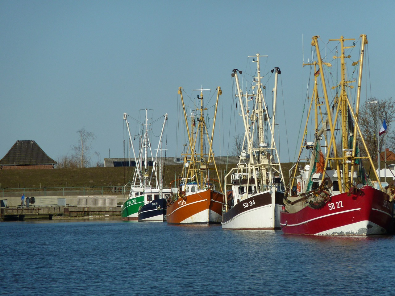 friedrichskoog port 245664 1280