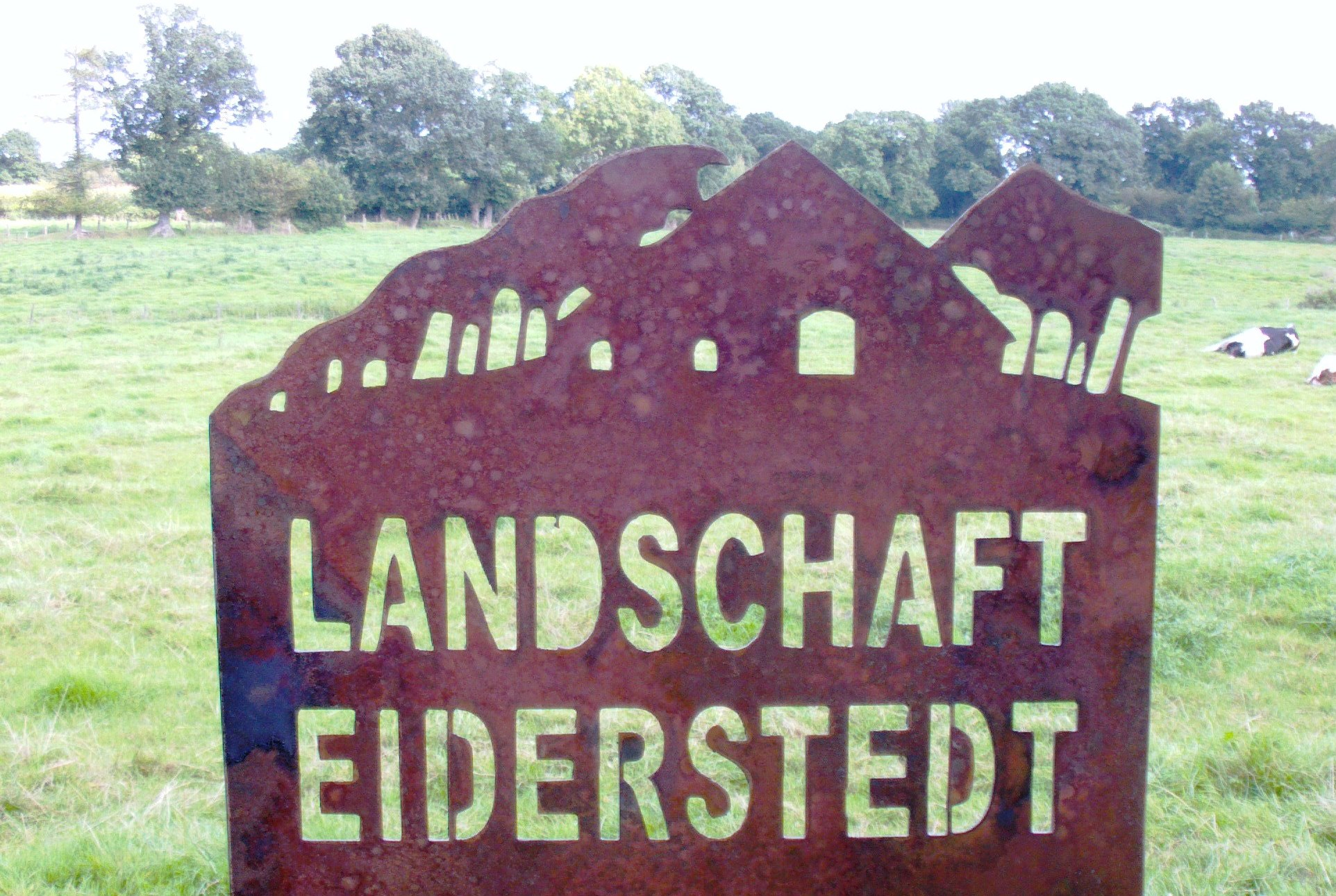 Landschaftsstele Beispiel