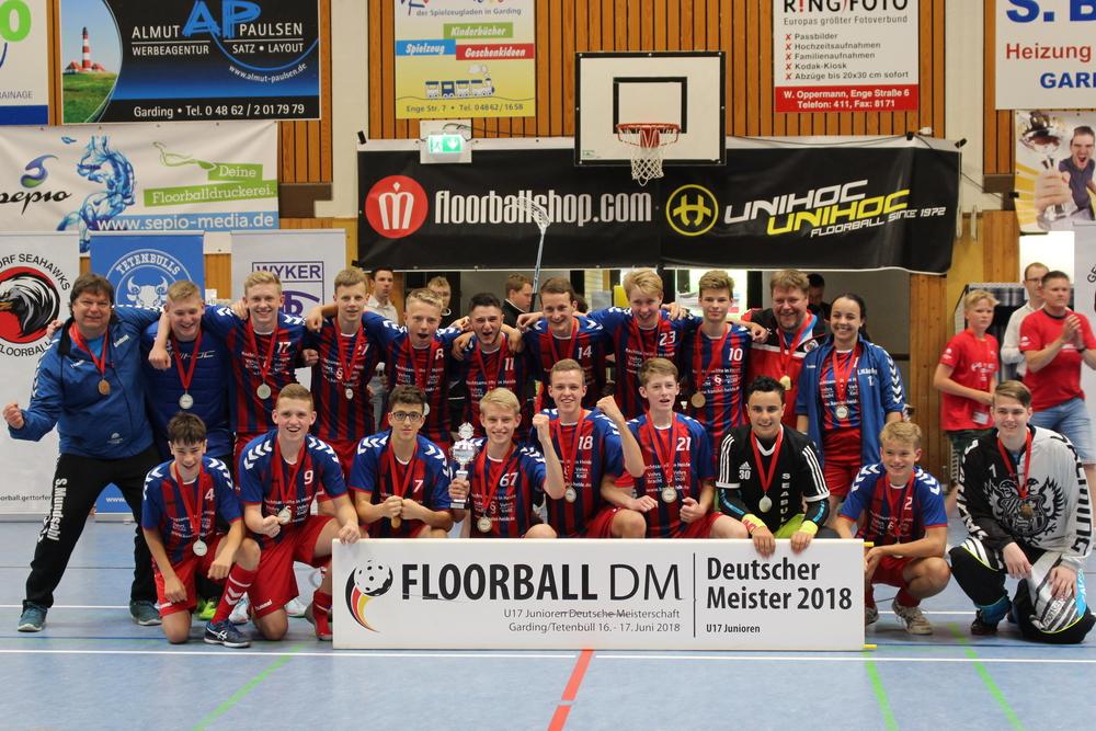 Die U17 Deutschen Meister 2018