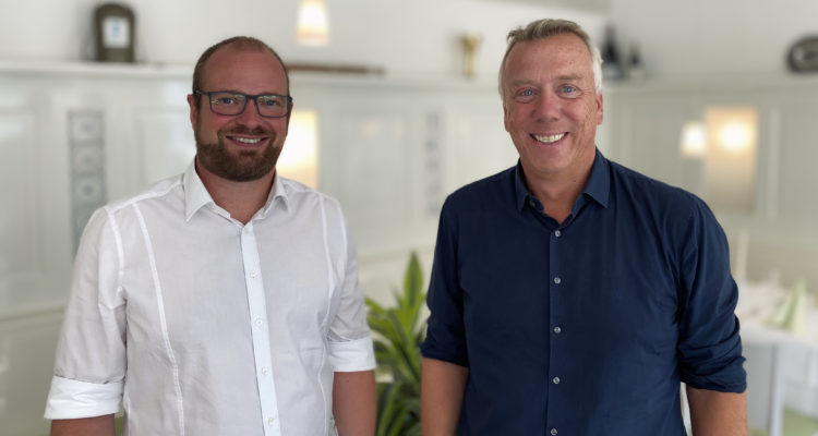 Christian Singelmann und Frank Schröder CG Christiansen und Schröder Bauzentrum unter einem Dach