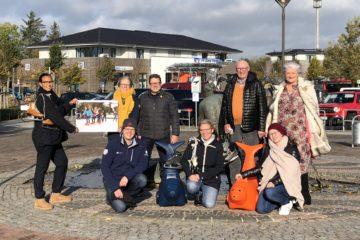 """Mitglieder der Initiative """"Wir Sind St. Peter-Ording"""", Veranstalter des Wintervergnügens und der Eisbahn in SPO"""